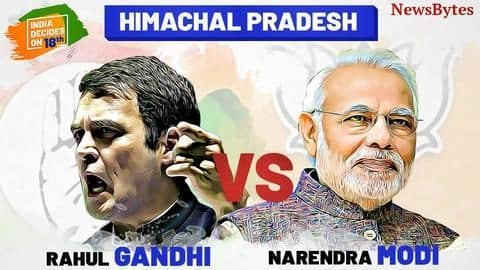 Himachal Pradesh election results at a glance