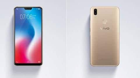 Vivo V9 launched in India, priced at Rs. 22,990