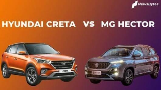 MG Hector v/s Hyundai Creta: Specifications, features, price