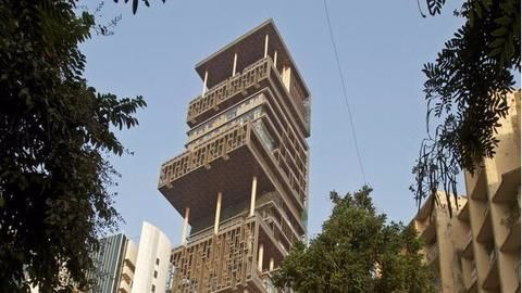 Mukesh Ambani's house 'Antilia'