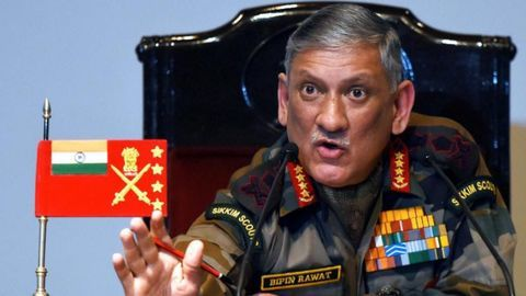 Army chief: Taking to social media may invite punishment