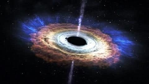 This is the first-ever real photo of a black hole