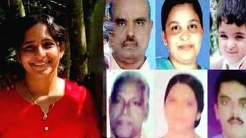 Kerala: Using cyanide, woman killed husband and five family members