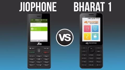 Micromax Bharat 1 and Reliance JioPhone comparison