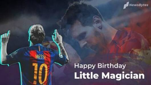 Lionel Messi: The Little Magician turns 32
