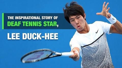 Hearing-impaired tennis player, Lee Duck-hee, advances in US Open qualifiers