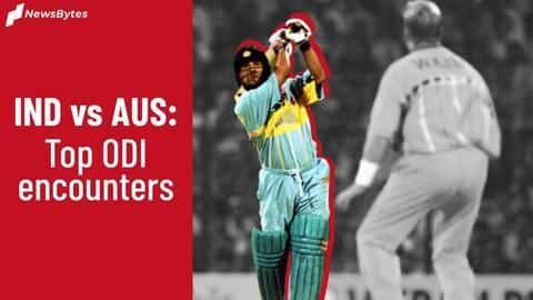 Ranking the best ODIs between India and Australia to date