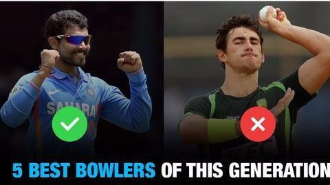 Who are the 5 best bowlers of the current generation?