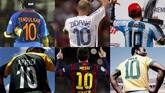 What is so great about the Number 10 jersey?