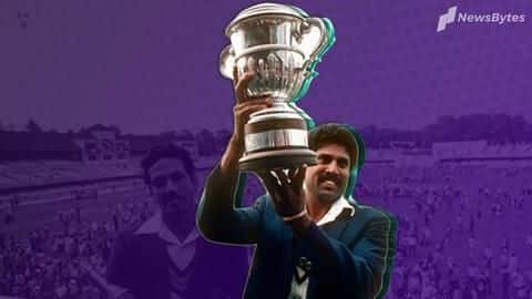 #ThisDayThatYear: Reliving Kapil Dev and his team's World Cup triumph