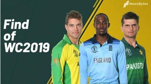 5 finds of the ICC World Cup 2019