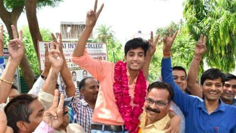 UP Board Result 2018: Autorickshaw driver's son is the topper