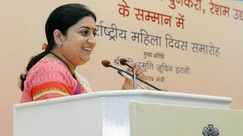 4 DU students detained for following Smriti Irani