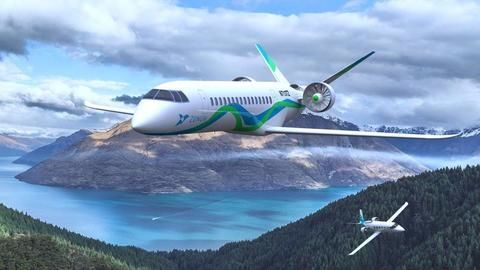 Will we have hybrid gas-electric planes by 2022?