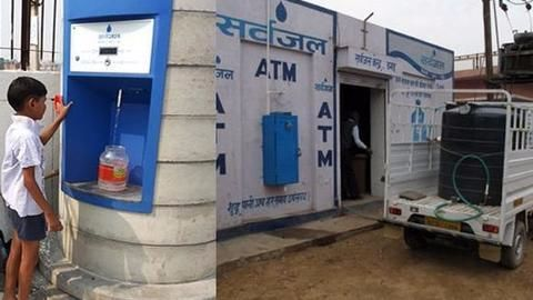 Hyderabad gets its first water ATM