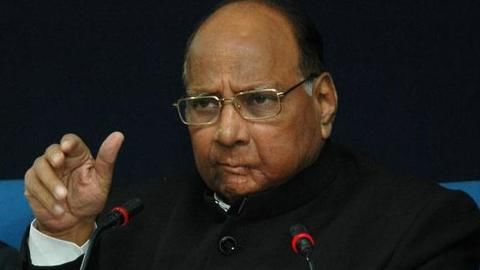 Sharad Pawar rules out NCP bailout for BJP