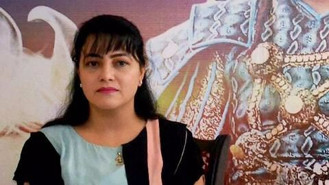 Honeypreet surrenders to Haryana Police after absconding for a month