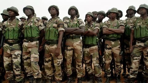 West African armies enter Gambia