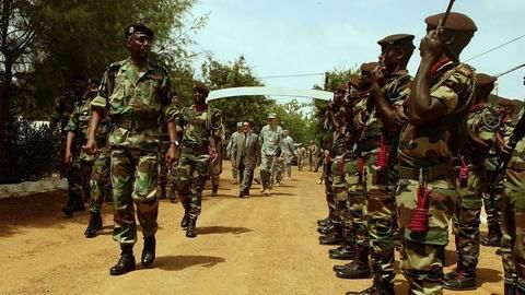 West African nations pledge military support