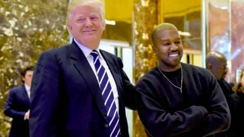 Amid haters, Trump has found a new friend in Kanye