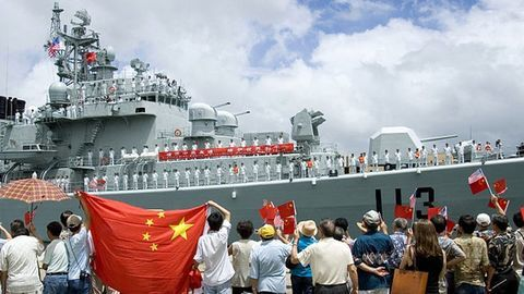 China's first overseas military base in Djibouti
