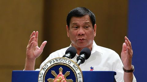 Philippines controversial anti-drug president's son named in $125mn narcotics scandal