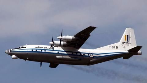 Plane is mainly carrying families of military personnel