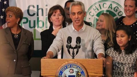 "Chicago Mayor declares city a ""Trump-free zone"" for Dreamers"