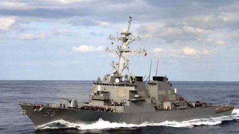 US warship collides with oil tanker, 10 sailors missing
