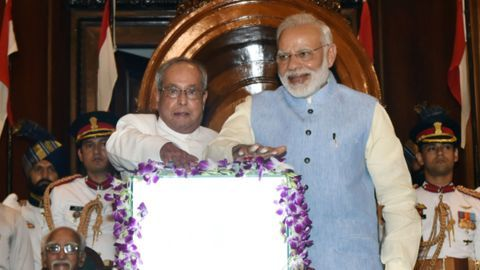 GST: Modi launches 'Good and Simpler Tax' in historic ceremony