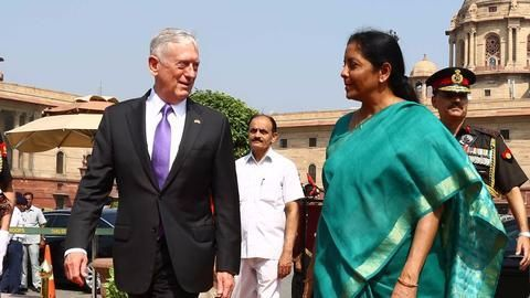 Sitharaman to Mattis: India won't deploy troops in Afghanistan