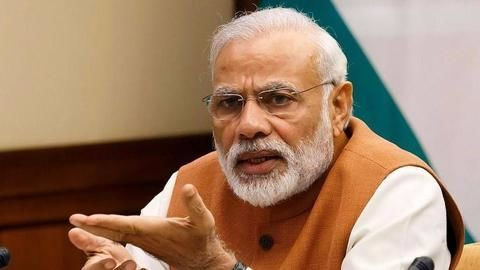 Modi to review infra project status following job creation criticism