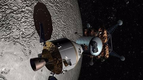 Russia-US to build first-ever lunar space station