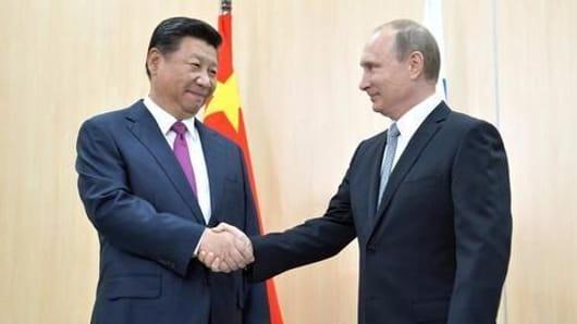 Growing China-Russia ties
