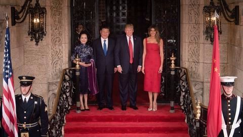 Trump discusses North Korea with Xi, Abe before G-20 meet