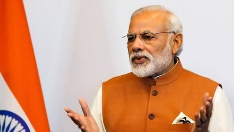 Modi highlights his government's successes during diaspora meet