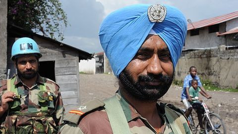 """Indian troops rescue 22 potential """"child soldiers"""" from war-torn Congo"""