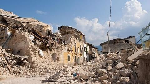 Devastation caused by earthquake in Mexico