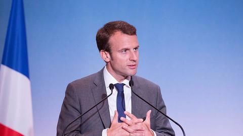 Who is the French President Emmanuel Macron?