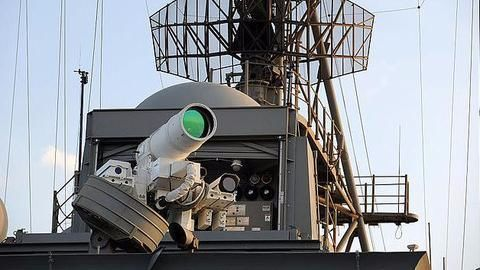 US deploys world's first laser weapon on warship