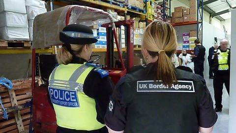 38 Indians detained in UK for working illegally