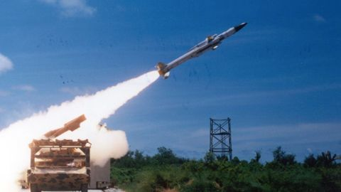 Missile test reveals new launch site