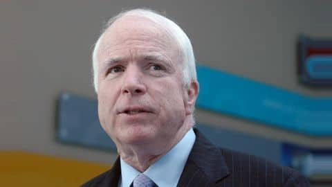 McCain again torpedoes Republicans' plan to repeal Obamacare in Senate