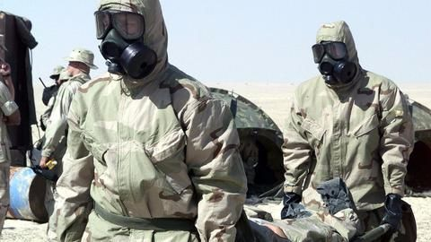 Suspected chemical attack in Syria spurs widespread outrage