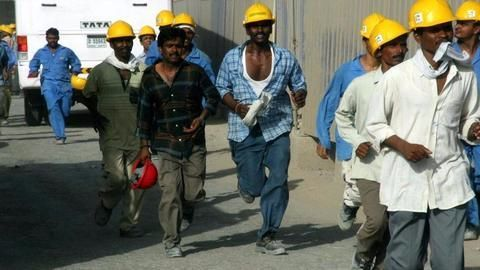 Indians working in the gulf region
