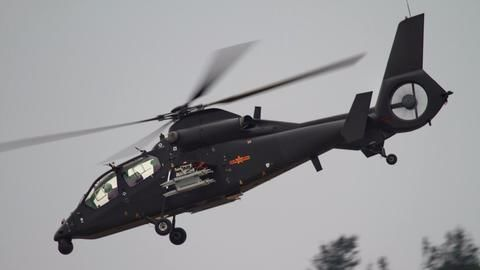 China's new attack helicopter takes maiden flight