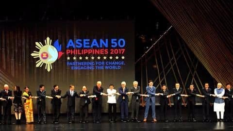 Modi pushes Act East policy at ASEAN summit
