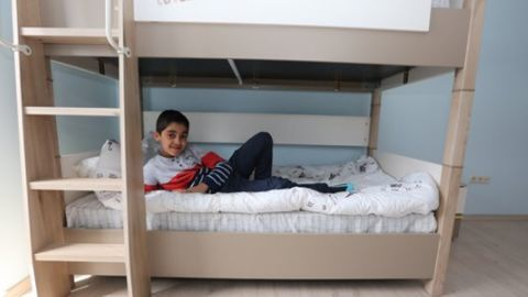 Turkey unveils new 'city' for Syrian war orphans