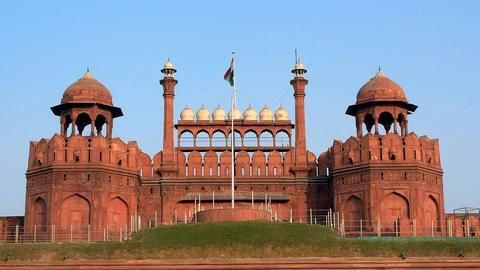In a major goof-up, Pakistani tableau features Red Fort