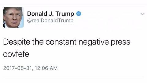 Proposed COVFEFE Act to archive Trump's tweets